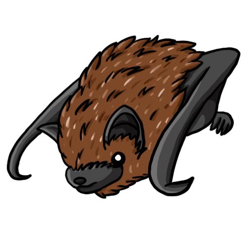 500x500 Bats Clip Art 3