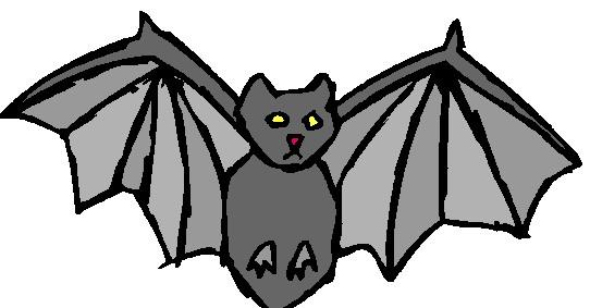 542x283 Clipart Bats