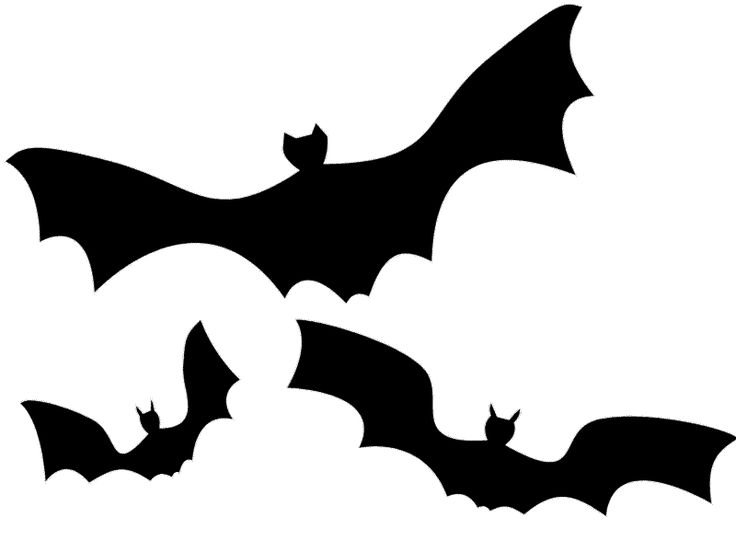 736x552 Bat clip art ideas on silhouette images