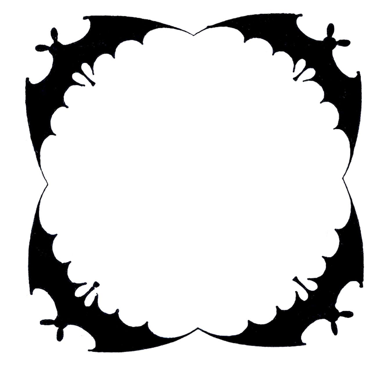 1350x1263 Bat Black And White Bat Outline Clip Art