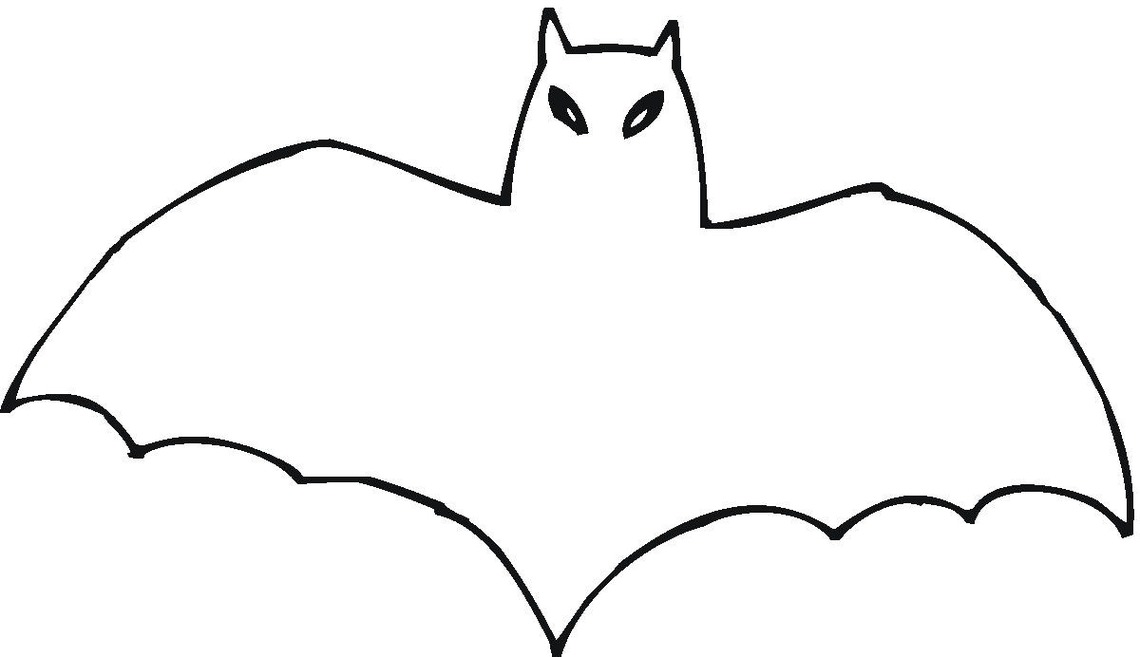 1140x657 Bat Clipart Bat Outline