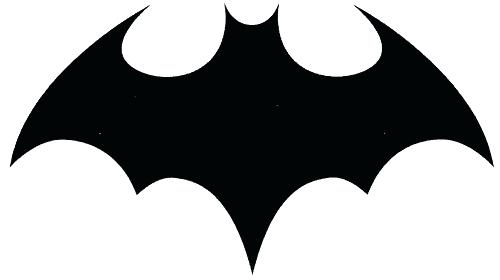 500x280 Batman Logo Outline Cool Batman Symbol Tattoo Design Batman Logo