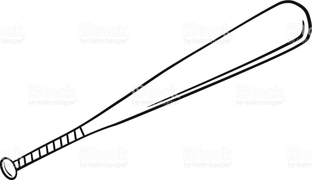 1024x590 Baseball Bat Clipart Black And White