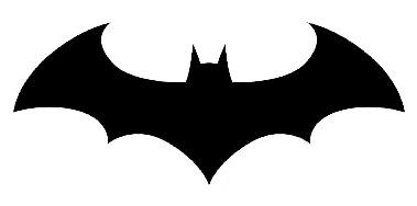 379x188 Outline For A Bat Clipart