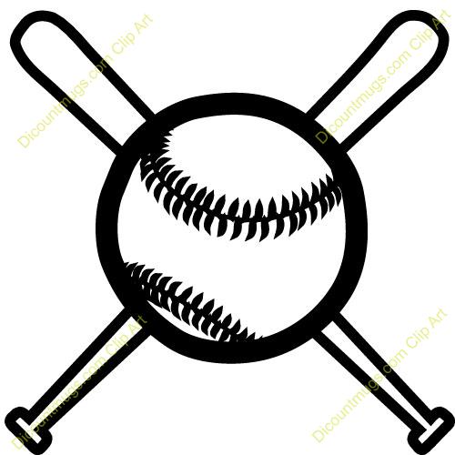 500x500 Baseball Bat Clipart Outline