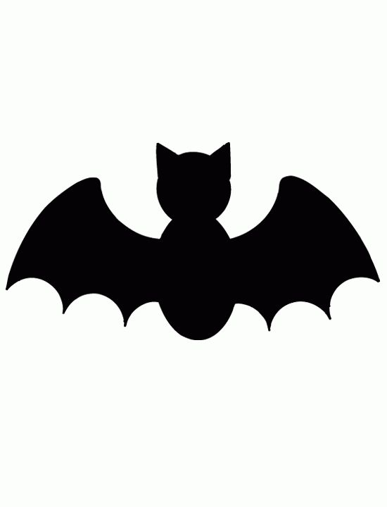 550x720 Cute Bat Outline Bat Template. Bat Symbol Template The Evolution