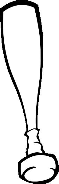 192x599 Baseball Bat Clip Art