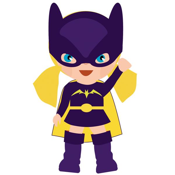 600x600 Batgirl Clipart Purple