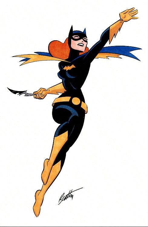 489x750 Batgirl Clipart Sad
