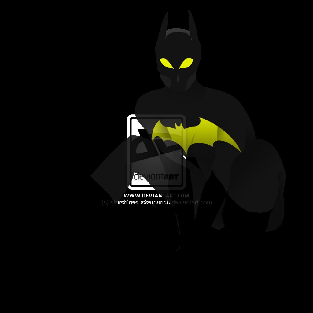 1024x1024 Batgirl Clipart