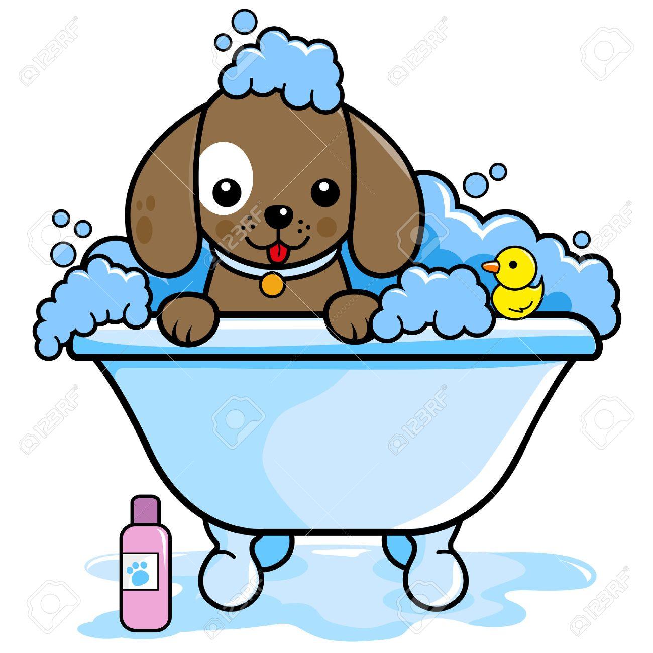 1300x1300 1,296 Dog Bath Stock Vector Illustration And Royalty Free Dog Bath