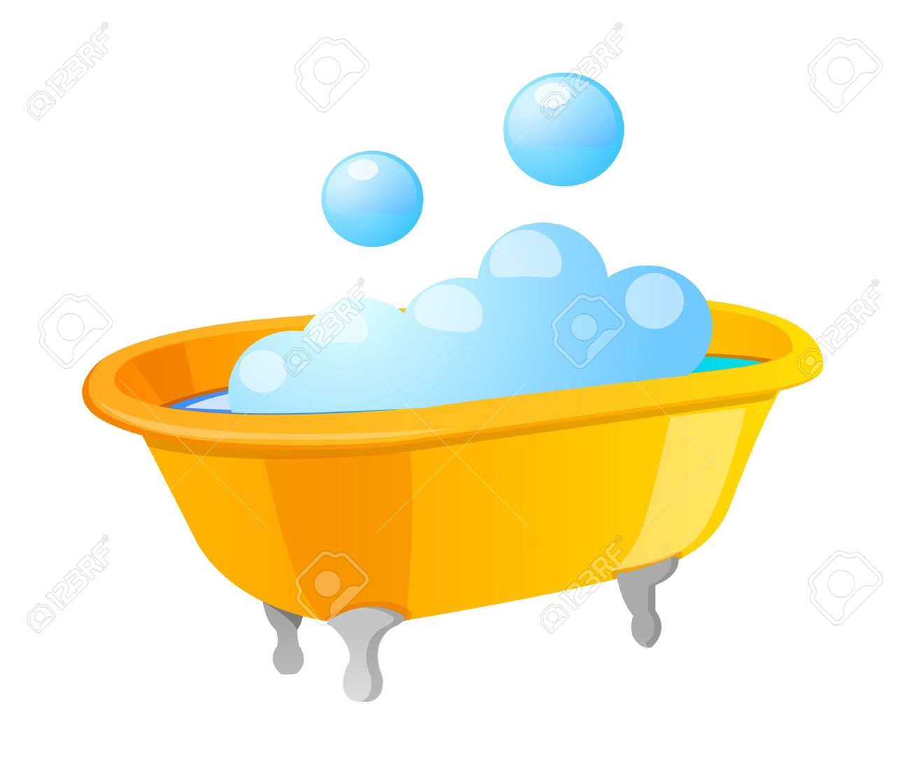 Bath Bubbles Cartoon Free Vector Graphic On Pixabay: Free Download Best Bath Clipart On