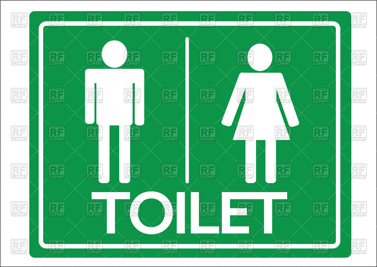 Bathroom sign man clipart free download best bathroom sign man 1200x849 toilet symbol male and female icon royalty free vector clip art biocorpaavc Choice Image