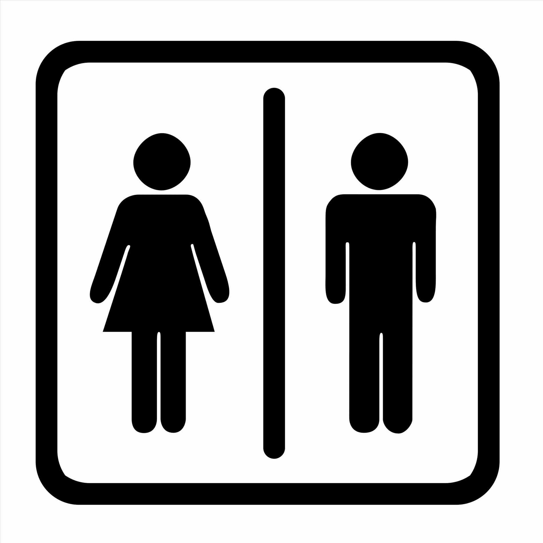 graphic about Bathroom Sign Printable titled Toilet Signs and symptoms Clipart Free of charge obtain great Rest room Signs and symptoms