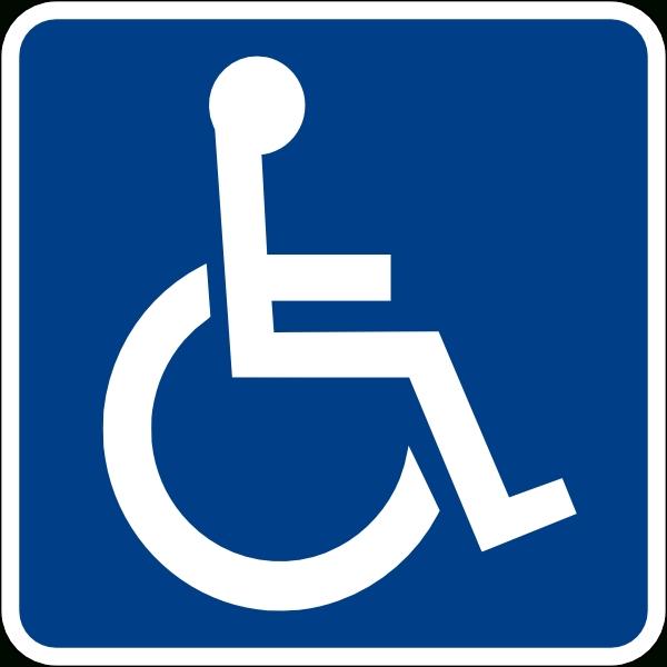 600x600 Handicap Bathroom Signs Inspiration Unihandicap Bathroom Sign