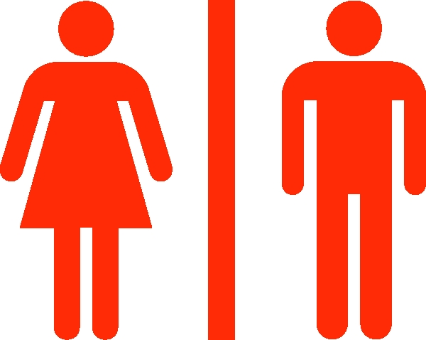 600x478 Men And Women Bathroom Sign New Large Man Woman Bathroom Sign