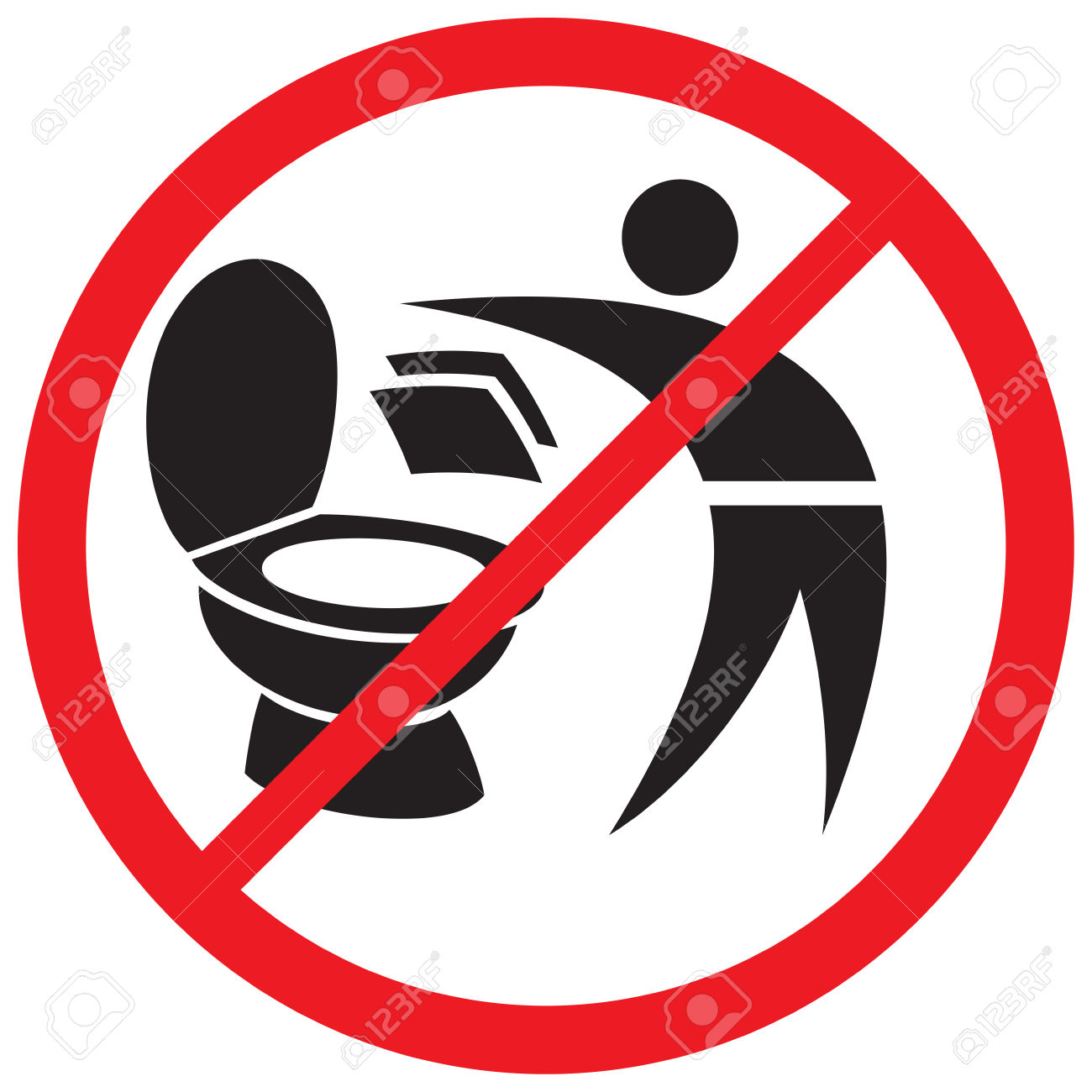 1300x1300 do not through paper towel in toilet clipart