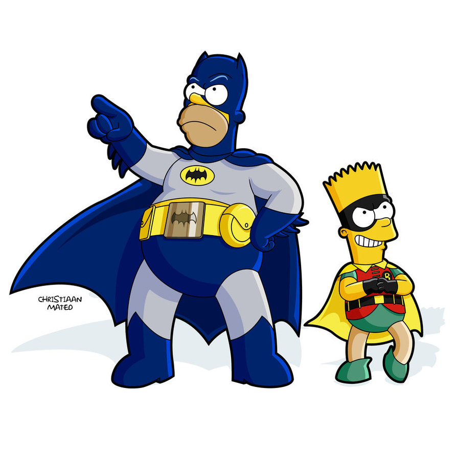Batman And Robin Clipart