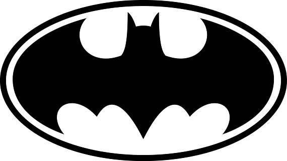 570x321 Batman Svg Batman Logo Svg Batman Clipart Batman Logo