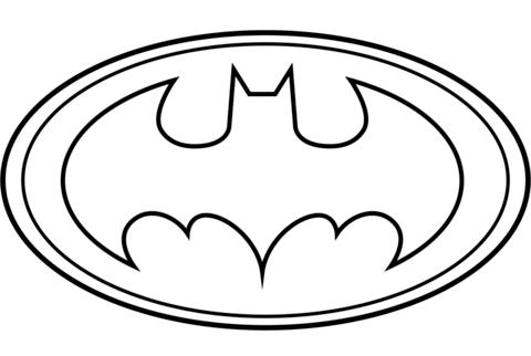 Imagenes Del Logo De Batman Para Colorear - ARCHIDEV
