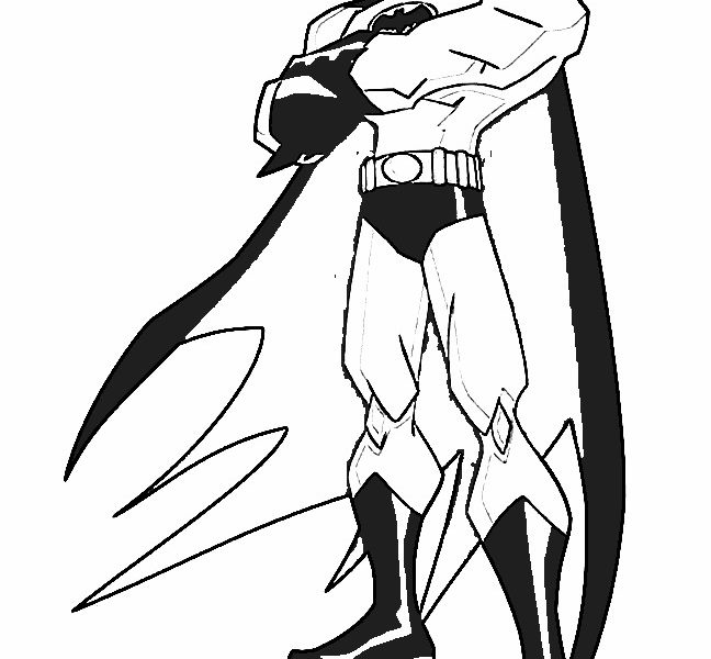 648x600 Children Batman Coloring Pages New On Photography Desktop