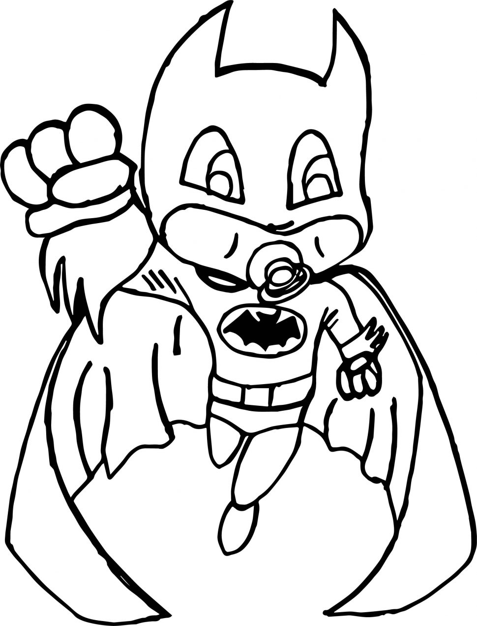 Batman Coloring Pages Free download
