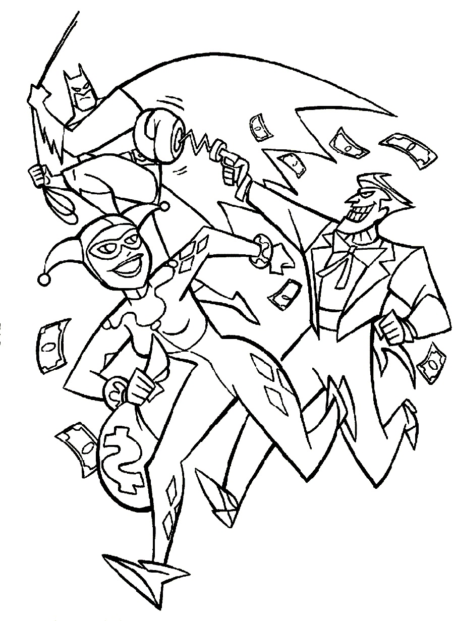 900x1231 Trend Batman And Joker Coloring Pages 50 In Coloring Pages