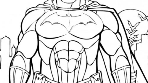 500x280 Unique Batman Coloring Pages Printable Coloring Pages Activities