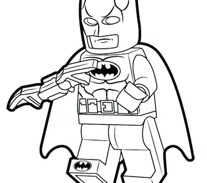 678x600 Batman Coloring Pages For Kids