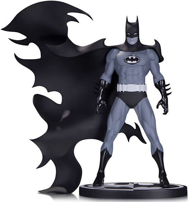639x681 Batman Black White Batman 110 Statue Norm Breyfogle Dc