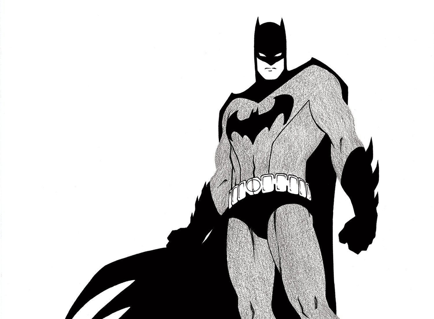 1500x1103 Batman Black And White