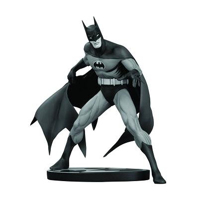 400x400 Batman Black And White Statue Jim Aparo