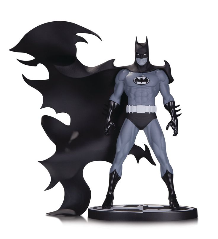 736x806 85 Best Batman Black And White Statue Series Images