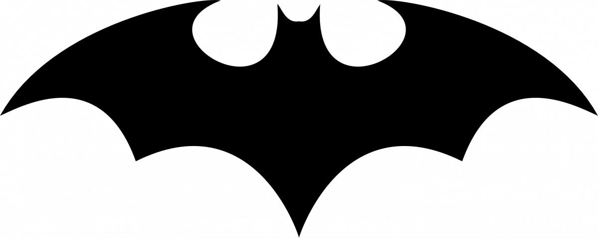 1200x479 Batman Clipart Shape
