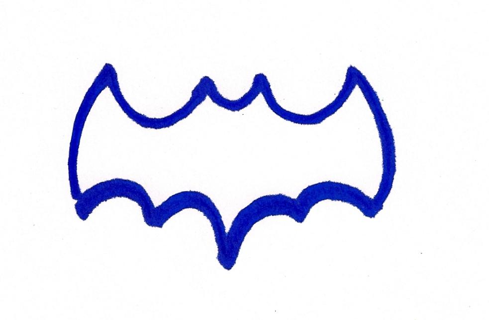 Batman Insignia Template Clipart | Free download best Batman ...