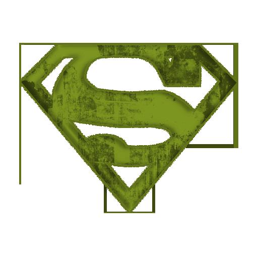 512x512 Superman Logo Clip Art