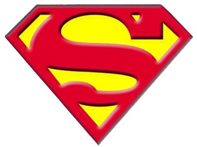 400x300 Superman Logo Clipart