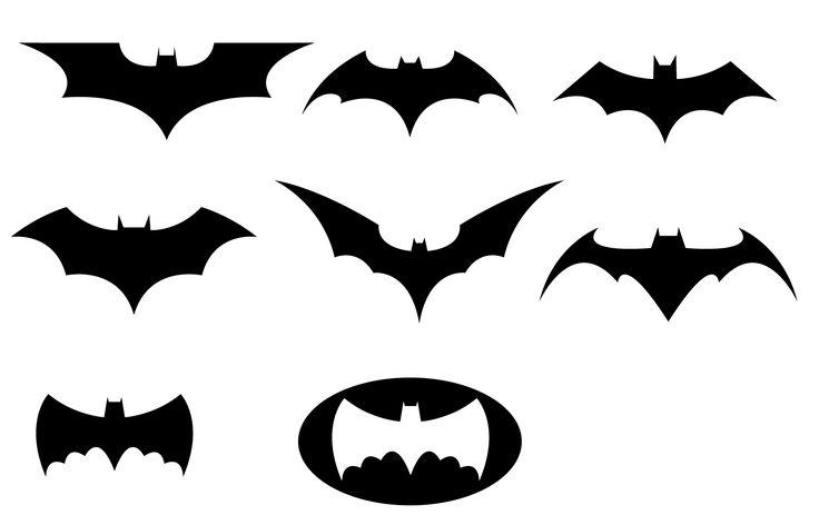 736x463 Lots Of Clip Art Of Batman Logos Super Hero Stuff