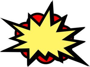 299x222 Batman Clipart Pow