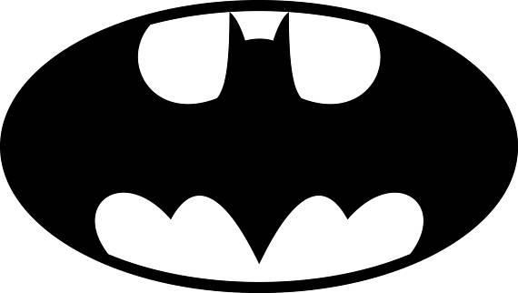 570x322 Batman Svg Batman Logo Svg Batman Clipart Batman Logo