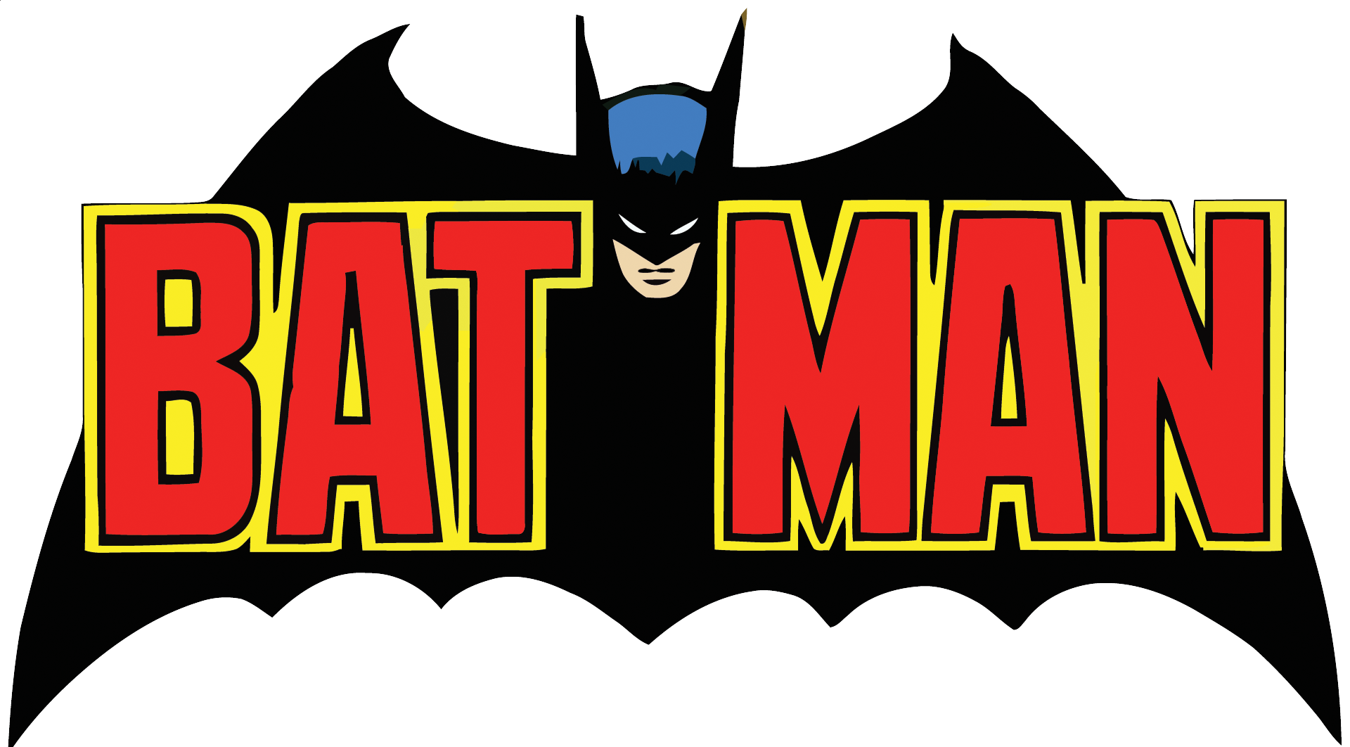 Batman Logo Outline | Free download best Batman Logo Outline on ...
