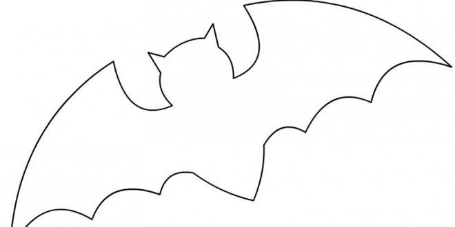 660x330 Cute Bat Outline Bat Template. Bat Symbol Template The Evolution