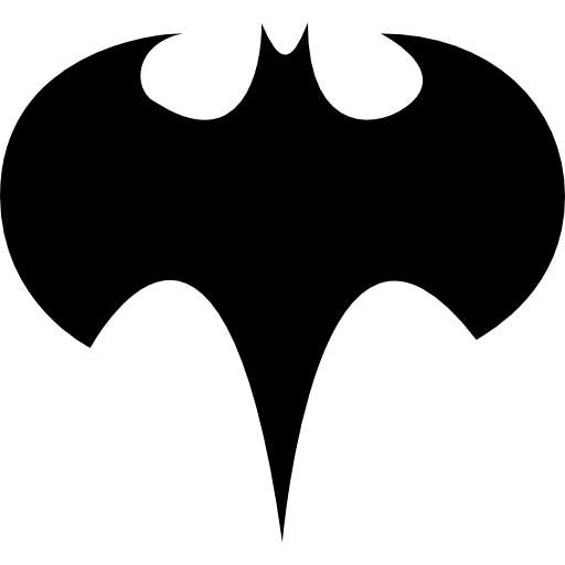 512x512 Batman Logo Silhouette