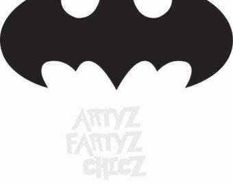 340x270 Batman Logo Svg Etsy