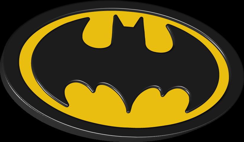823x480 Batman Logo 3d By Syndikata Np