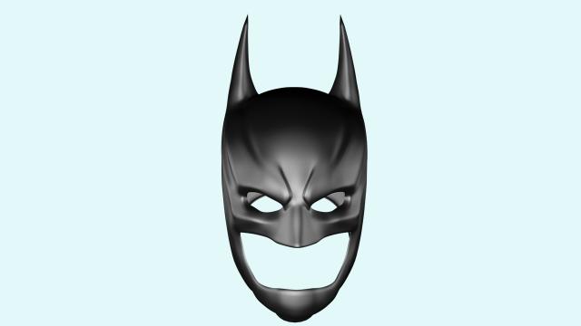 640x360 Batman Helmet 3d Model In Man 3dexport