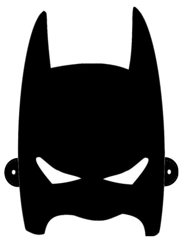 600x787 Drawn Masks Batman Mask