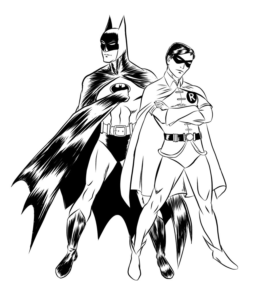 900x993 batman and robin circa 1980 by jimmcclain