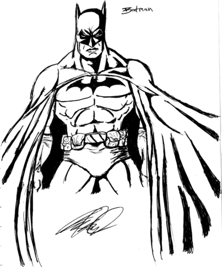 Batman Outline Free Download On Clipartmag