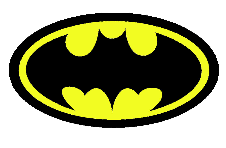 1500x987 Batman Logo Clip Art